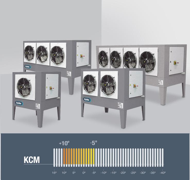 KCM media temperatura